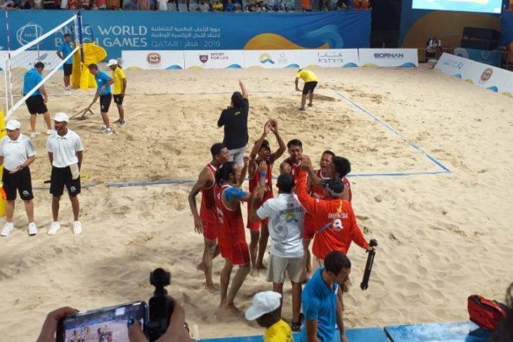 Tim voli pantai Indonesia rebut medali perunggu World Beach Games