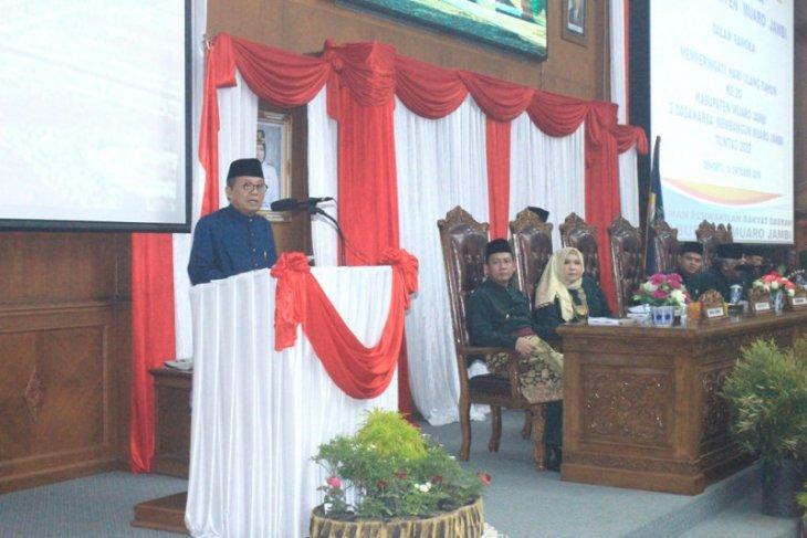 Fachrori ajak Pemkab Muarojambi tingkatkan sumber pembiayaan pembangunan