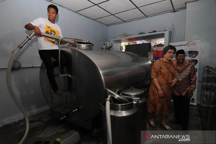 Bantuan tangki pendingin susu sapi perah