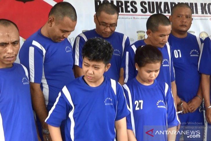 Wanita pengedar sabu-sabu jaringan Lapas Nyomplong Sukabumi ditangkap