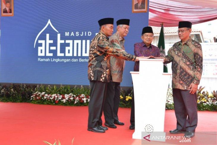 Wapres JK: masjid bukan hanya tempat ibadah, tapi penyebaran kebaikan