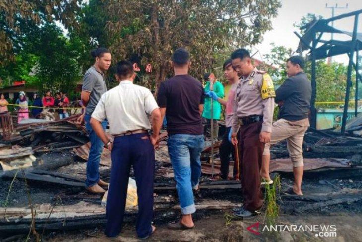 Satu unit rumah terbakar bersama penghuninya di Bangka Tengah