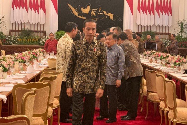 Presiden Jokowi pastikan jumlah menteri di kabinet 2019-2024 tetap sama