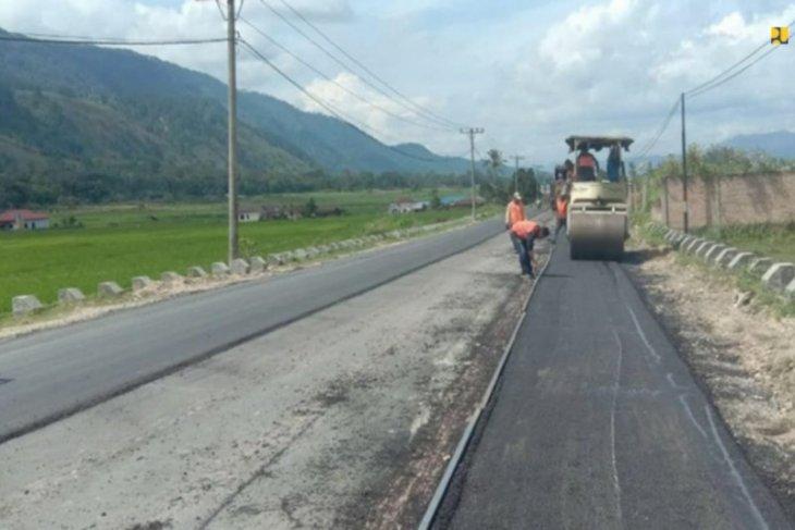 PUPR terus tingkatkan kemantapan ruas jalan KSPN Danau Toba