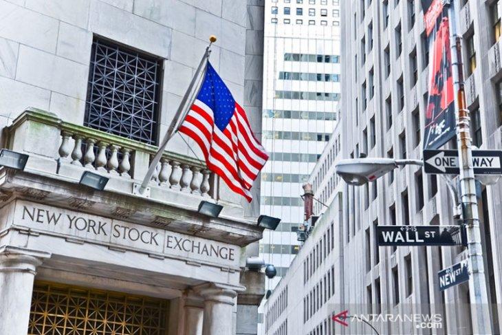 Wall Street berakhir bervariasi di tengah kekahawatiran virus korona