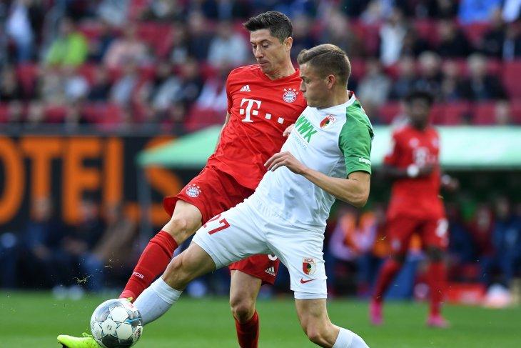 Bayern Munchen gagal menang di markas Augsburg