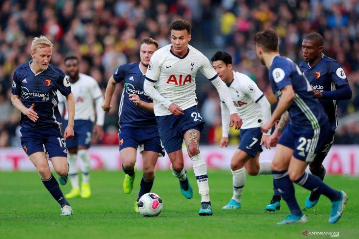 Tottenham selamat dari kekalahan lawan Watford