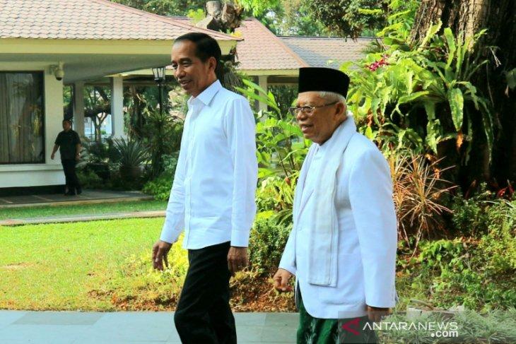 Usai dilantik,  Ma'ruf Amin dijadwalkan terima sejumlah tamu negara