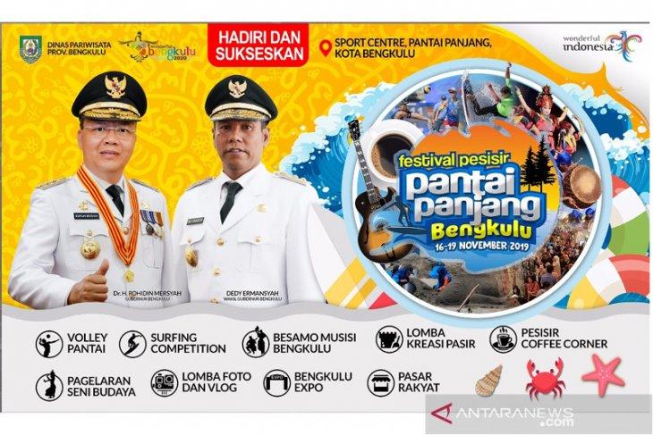 3 agenda wisata Bengkulu masuk kalender nasional 2020