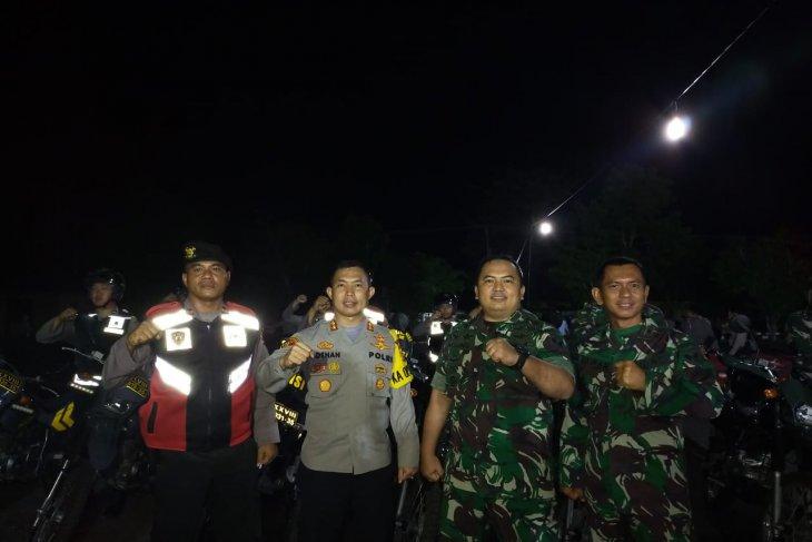 Polres Bangka Barat-Kodim gelar patroli gabungan jelang pelantikan Presiden RI