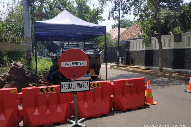 Akses jalan ke rumah Ma'ruf Amin tertutup untuk umum