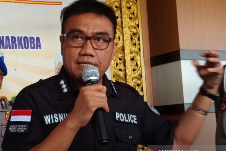 Polisi tembak pengedar sabu di Banjarmasin karena menyerang petugas