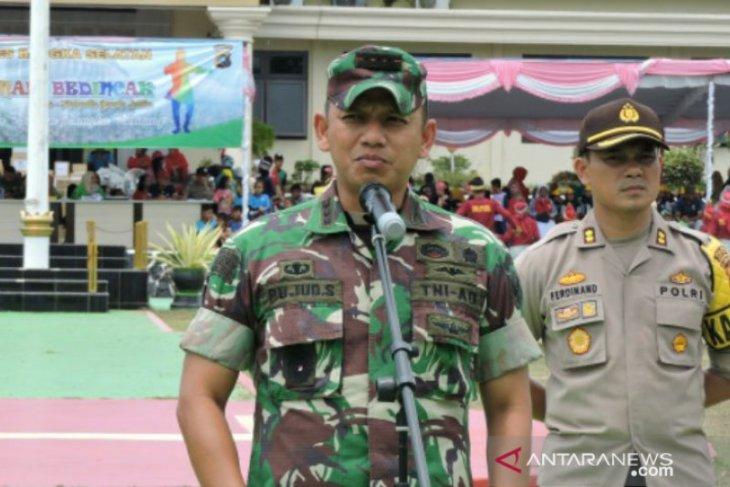 TNI-Polri pastikan Bangka Selatan kondusif jelang pelantikan presiden