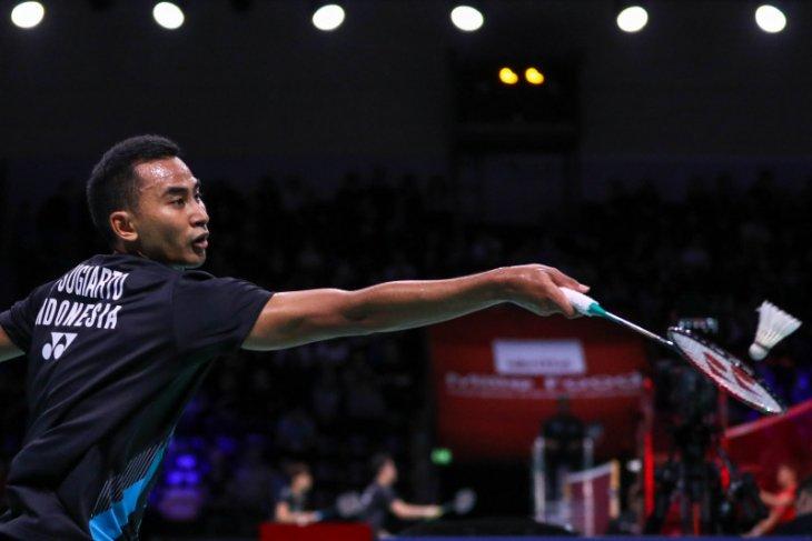 Babak pertama Fuzhou China Open, tunggal putera Indonesia Tommy langsung terhenti