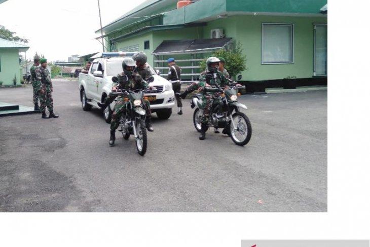 Jelang pelantikan presiden, Kodim 0414/Belitung gelar patroli teritorial