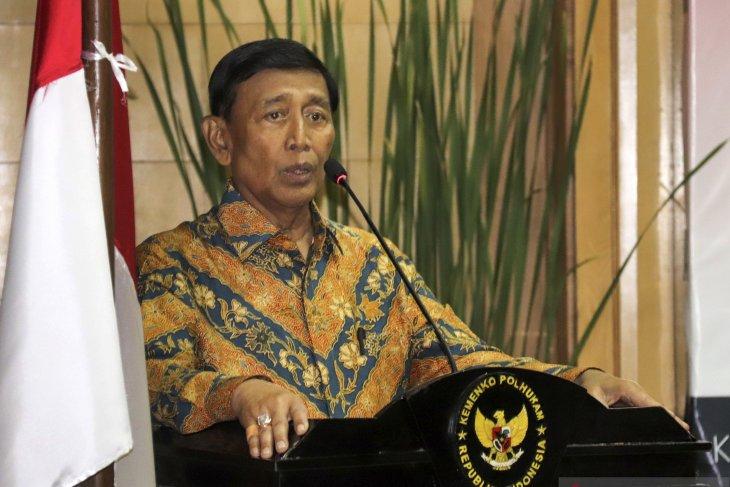 Hadir pelantikan Presiden, Wiranto kembali keluar dari RSPAD