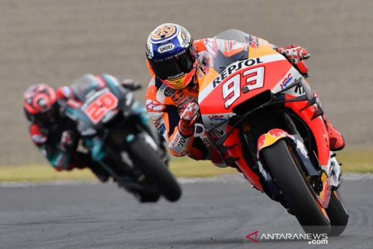 Marc Marquez nyaris kehabisan bahan bakar