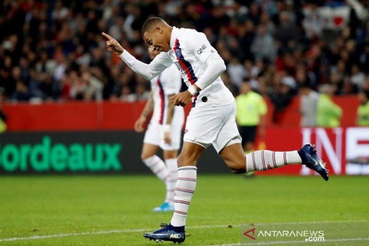 Klasemen dan hasil Liga Prancis: PSG kini unggul lima poin