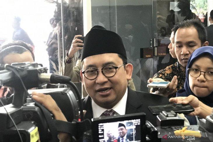 Fadli Zon bantah diproyeksikan jadi menteri pada kabinet Jokowi