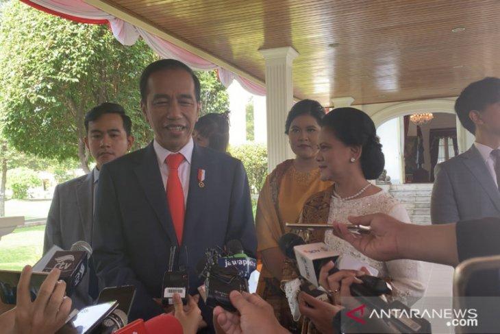 Jokowi sebut akan banyak wajah baru di kabinetnya