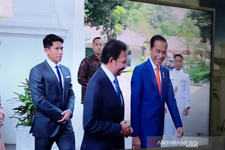 Several leaders pay courtesy calls on Jokowi prior to inauguration