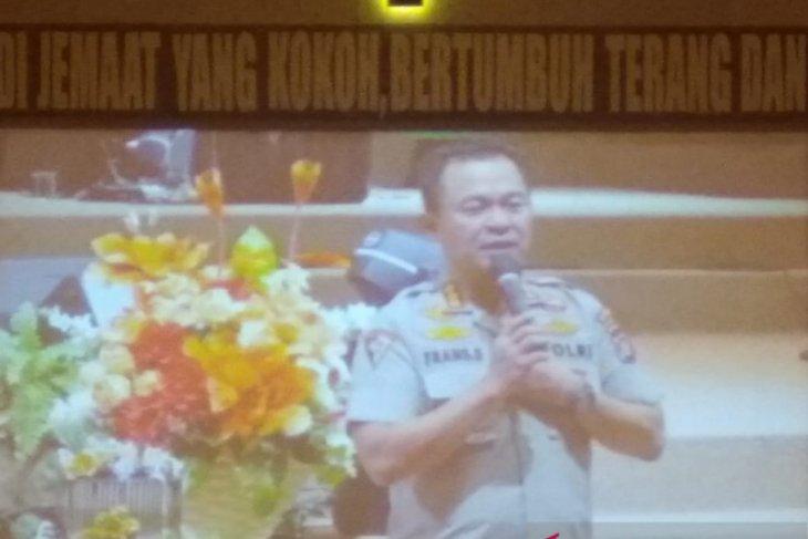 Polda Gorontalo sosialisasikan keamanan pelantikan Presiden di Gereja