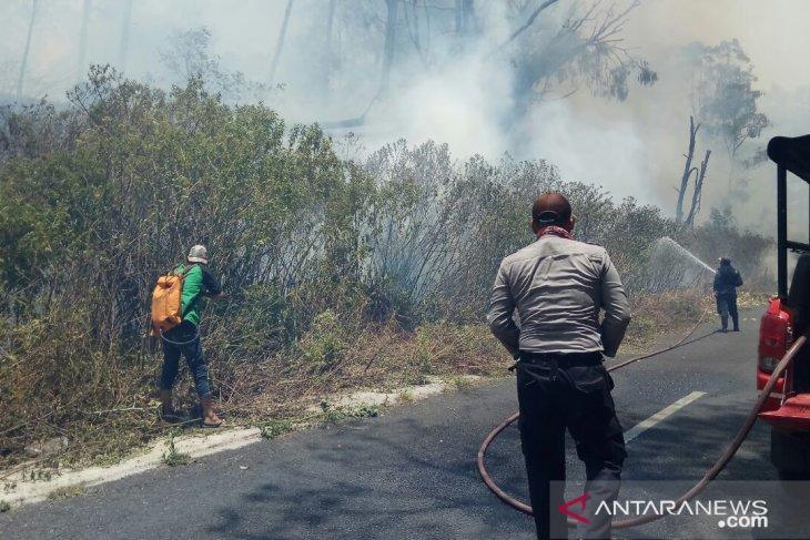 Gunung Ranti Banyuwangi terbakar, pendakian Ijen ditutup sementara