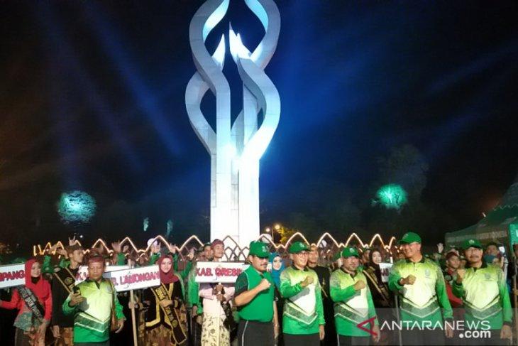 Ratusan pemuda se-Jawa Timur ikuti jambore di Pamekasan