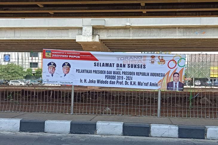 Pelantikan presiden,  masyarakat dan Pemprov Papua ucapkan selamat