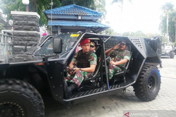Untuk pantau keamanan pelantikan Presiden, TNI-Polri kerahkan pesawat
