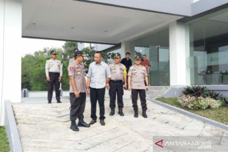 Polres Pangkalpinang amankan objek vital jelang pelantikan presiden