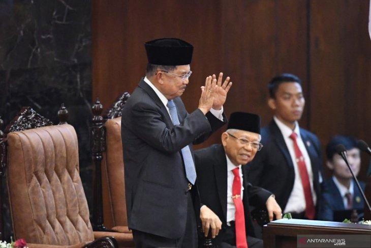 Presiden sampaikan  terima kasih kepada Jusuf Kalla