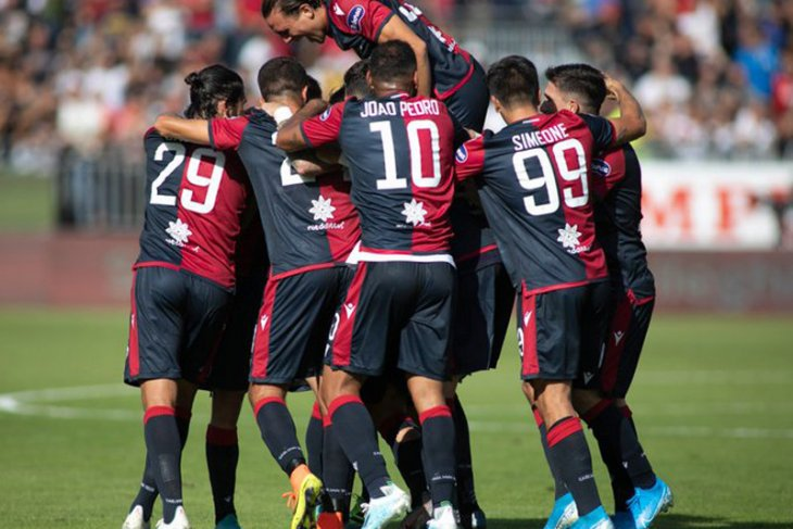 Liga Italia, Cagliari tundukkan SPAL, Sampdoria tahan imbang Roma