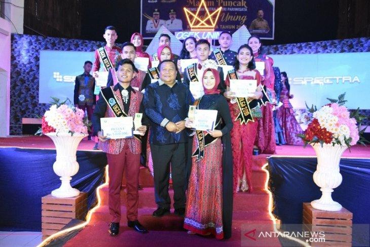 Selamat, Andhika dan Sri terpilih sebagai Ogek dan Uning Kota Sibolga Tahun 2019