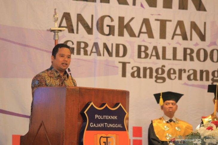 Wisudawan Politeknik Gajah Tunggal diajak berkontribusi bagi Kota Tangerang
