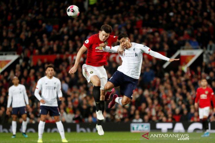 Liga Inggris, MU hentikan catatan sempurna Liverpool dengan hasil imbang 1-1