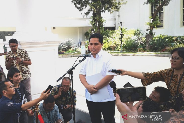 Erick Thohir akan pimpin kementerian bidang ekonomi