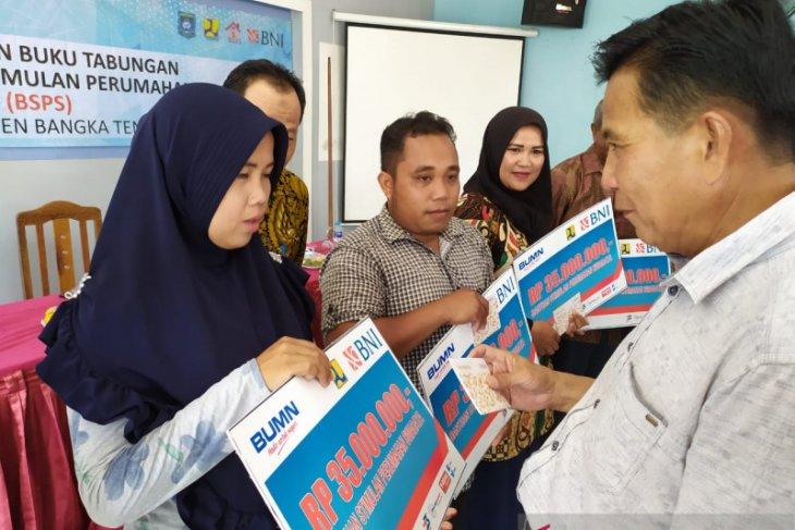 Pemkab Bangka Tengah gulirkan program bantuan rumah layak huni