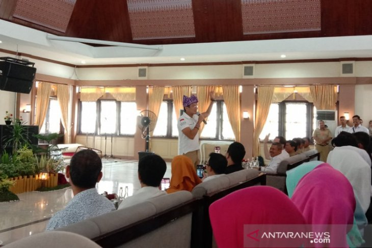 Sandiaga Uno memotivasi ratusan pelaku UKM di seminar kewirausahaan