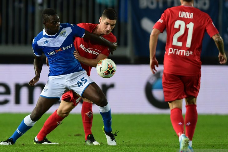 Brescia tahan imbang tamunya Fiorentina tanpa gol