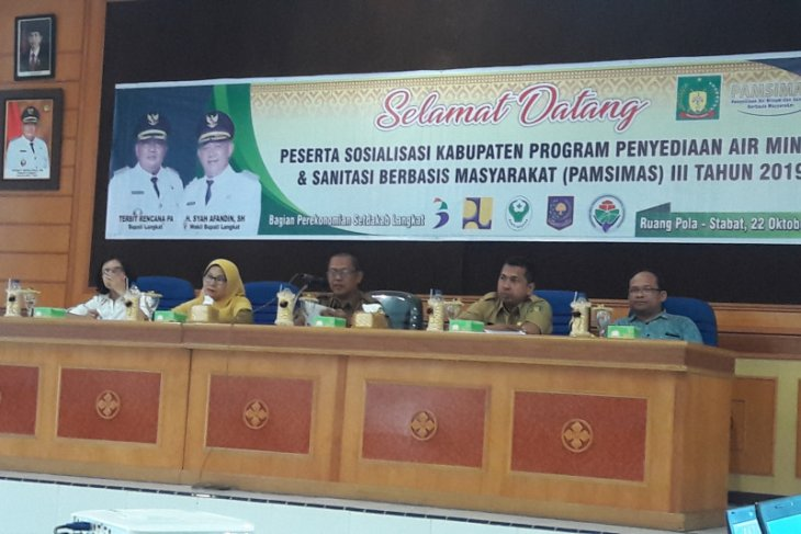Program Pamsimas tiga Langkat menjaring minat desa
