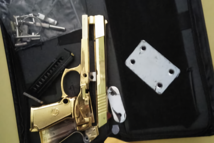 Bali police investigate package of firearms from China