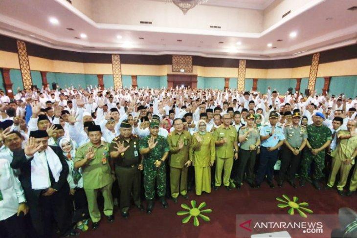 1.064 Calon Kades di Bogor deklarasikan Pilkades damai