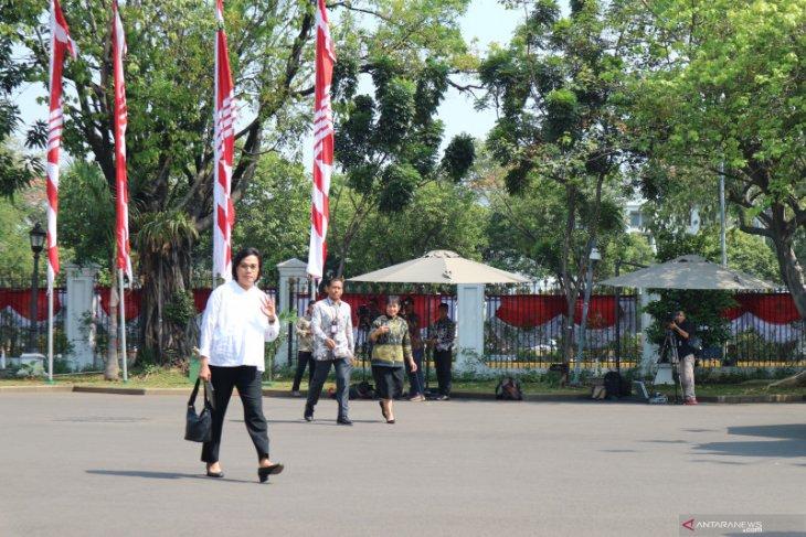 Sri Mulyani menjadi orang Ke-12 yang  dipanggil Presiden Jokowi
