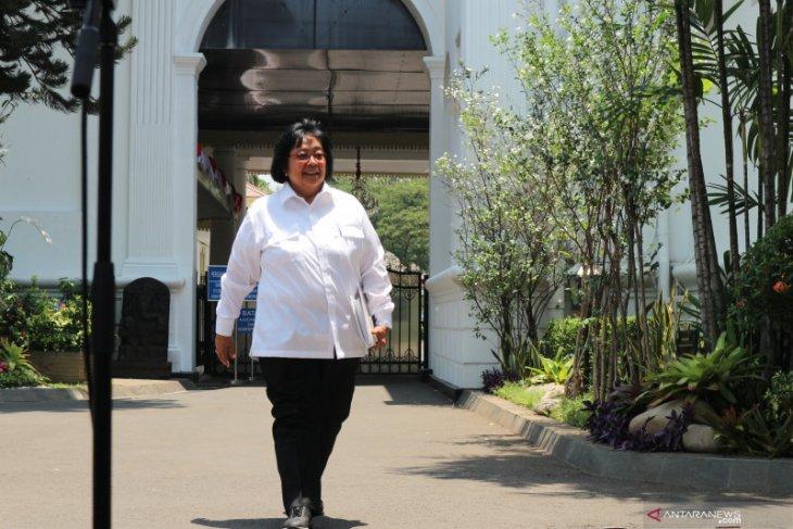 Siti Nurbaya tetap sebagai Menteri LHK