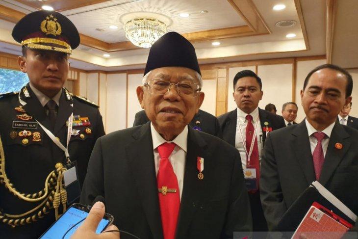 Wapres Ma'ruf Amin harap Presiden pilih menteri muda dan kreatif