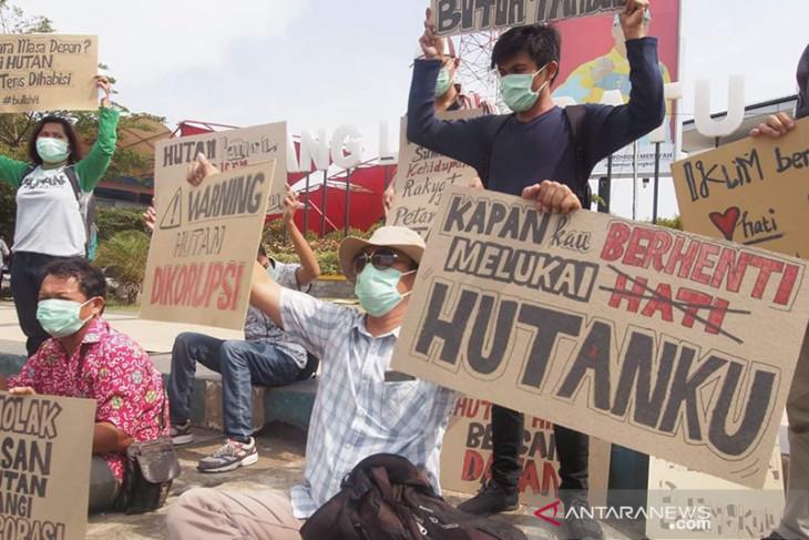 Aktivis Bengkulu tolak pelepasan hutan untuk korporasi