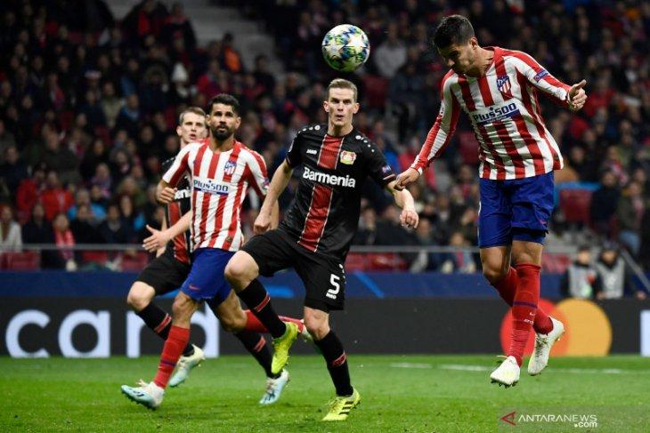 Liga Champions, gol Morata bawa Atletico semakin dekati 16 besar