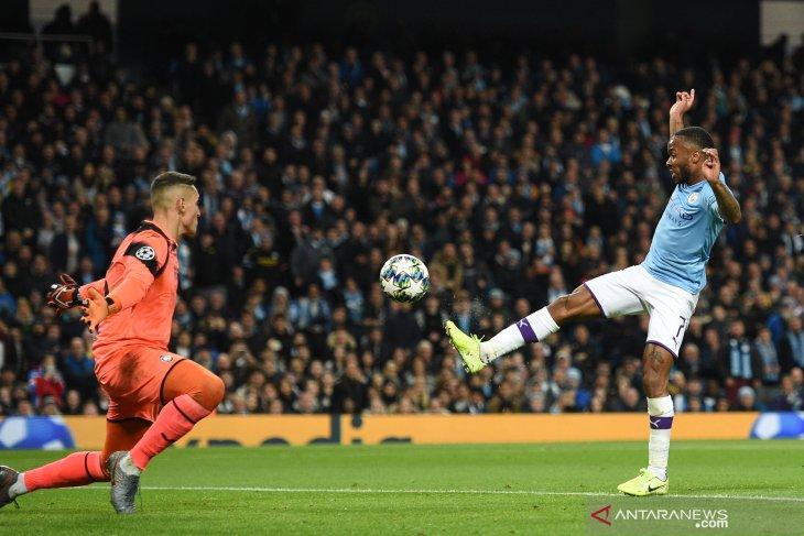 Liga Champions - Trigol Sterling warnai kemenangan besar City atas Atalanta