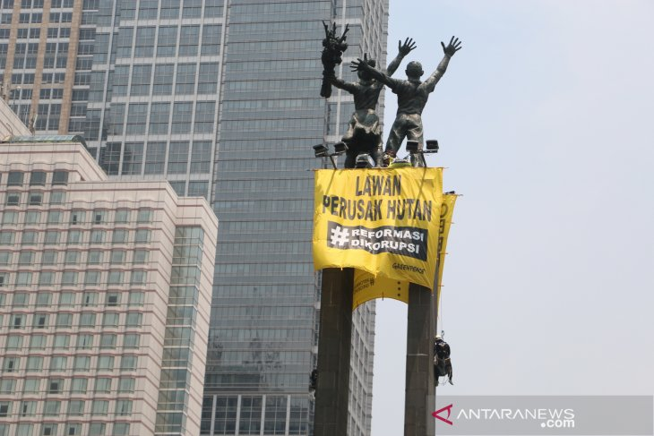 Greenpeace campaigns on clean energy, alerts Jokowi's cabinet